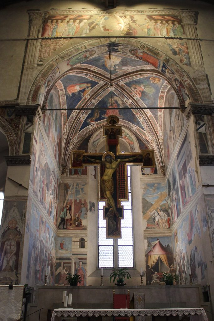 THE LEGEND OF THE TRUE CROSS IN AREZZO PART II