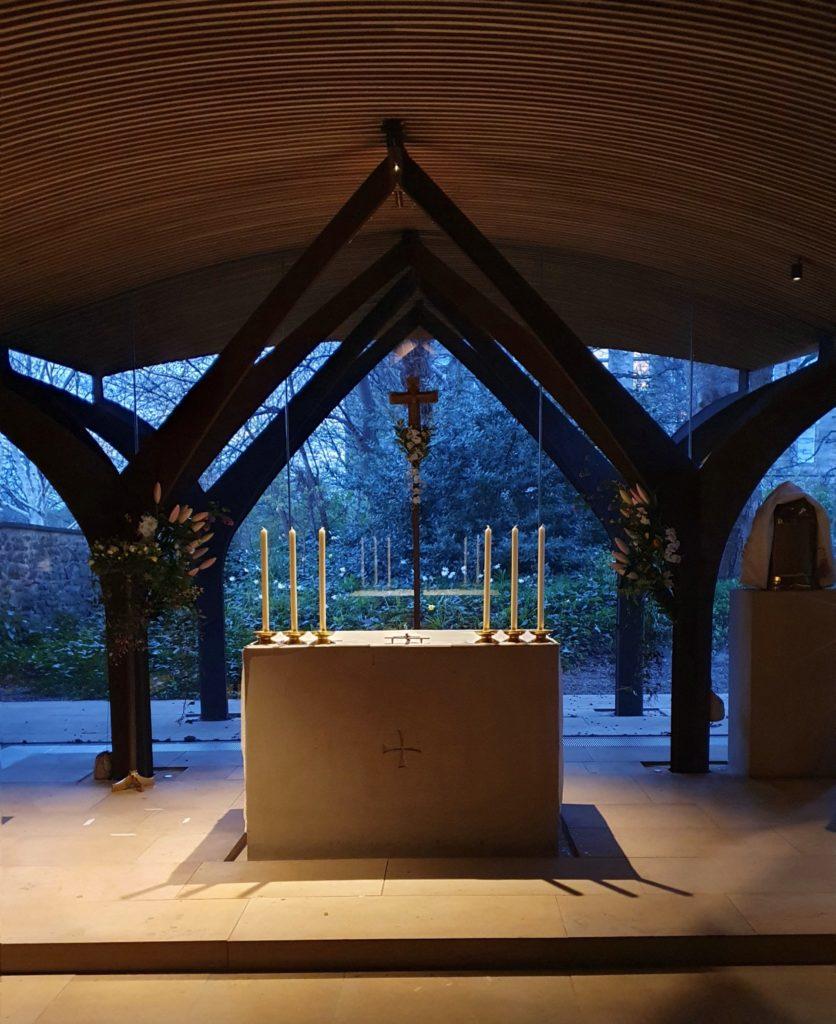 Attending Mass at St Albert's