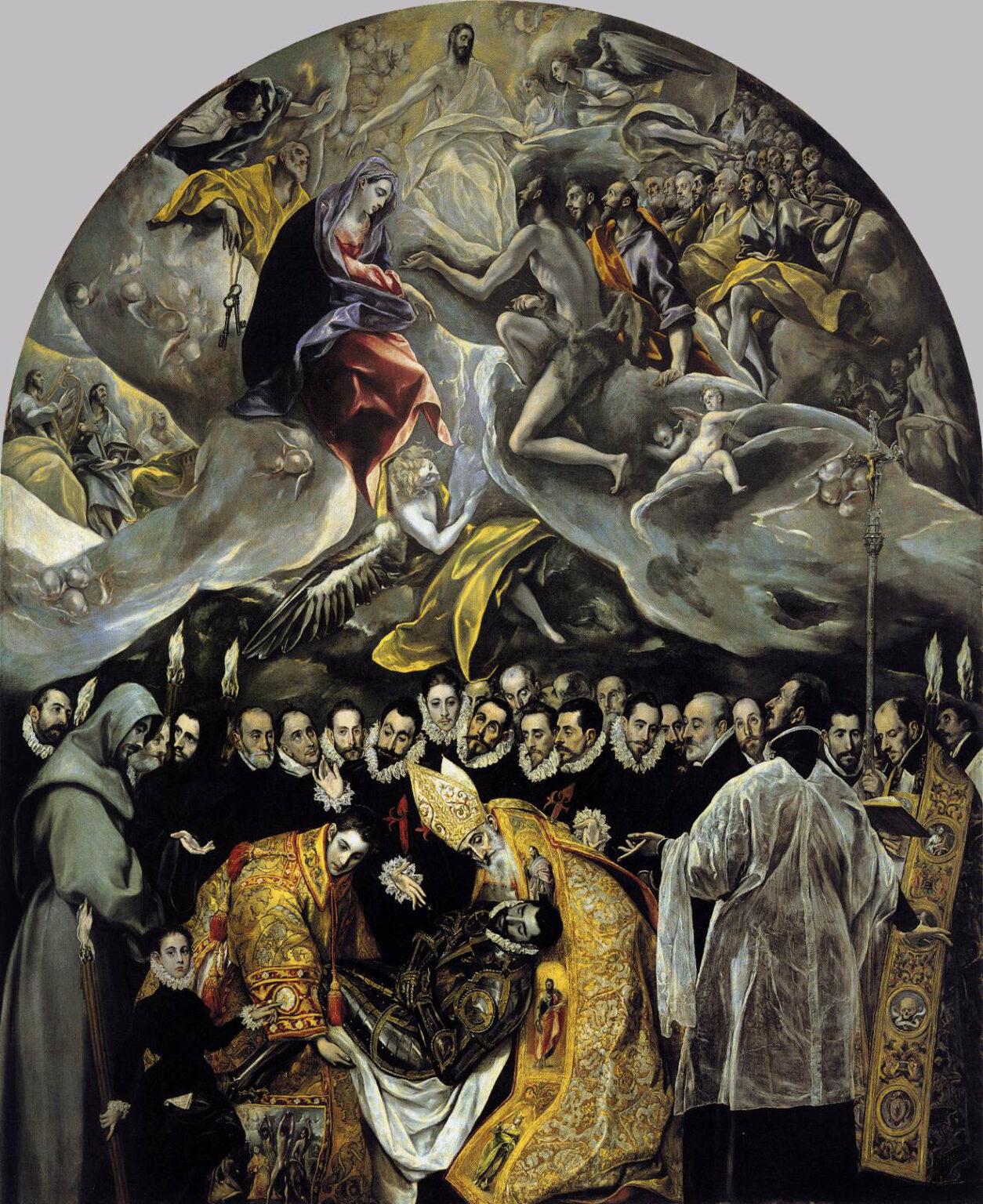 El Greco's Burial of the Count of Orgaz