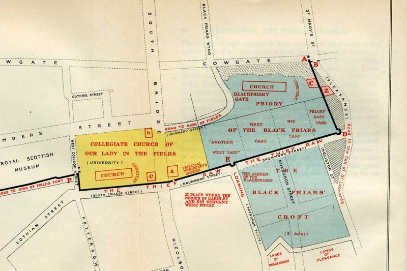 blackfriars-edinburgh-map